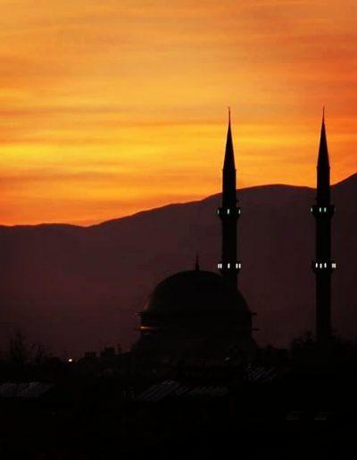 Moskee in Turkije