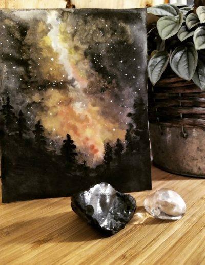 Waterverf Galaxy